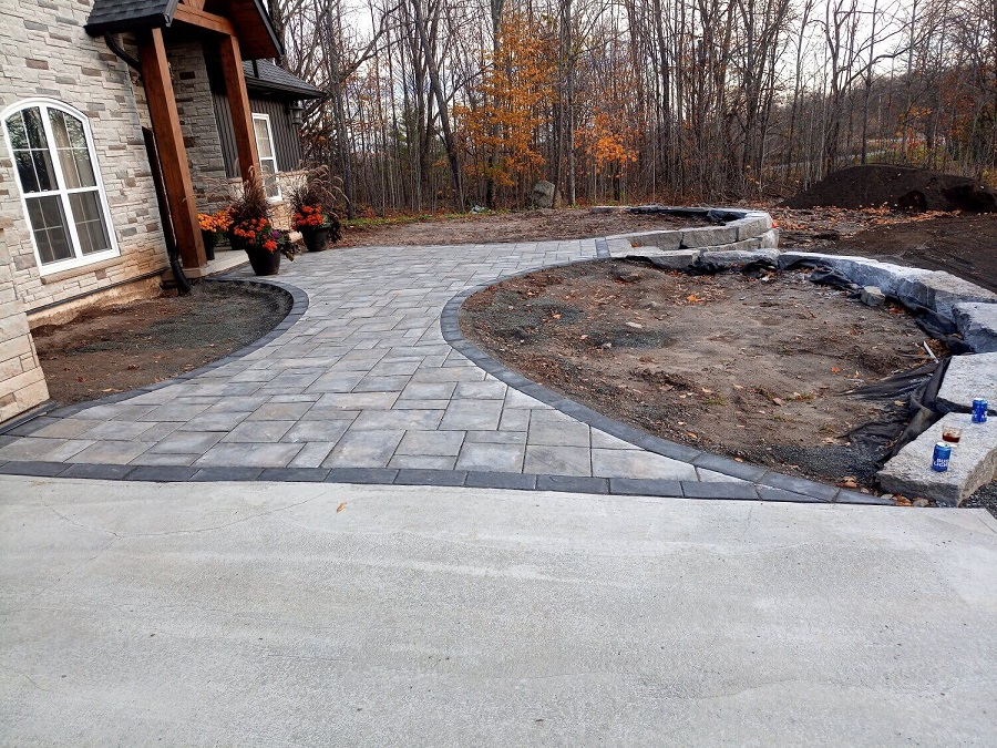 residential outdoor stone